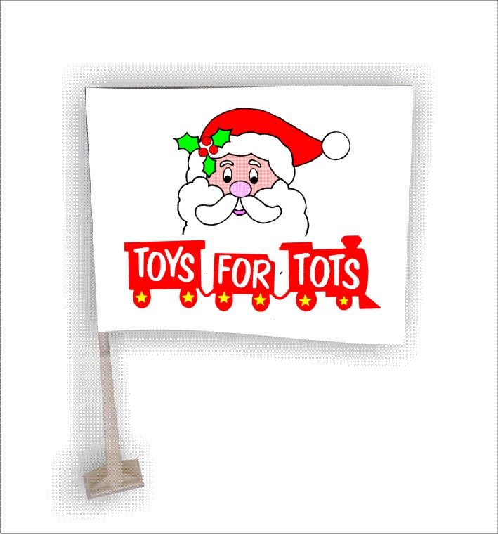 Toys For Tots Plaques : Object moved